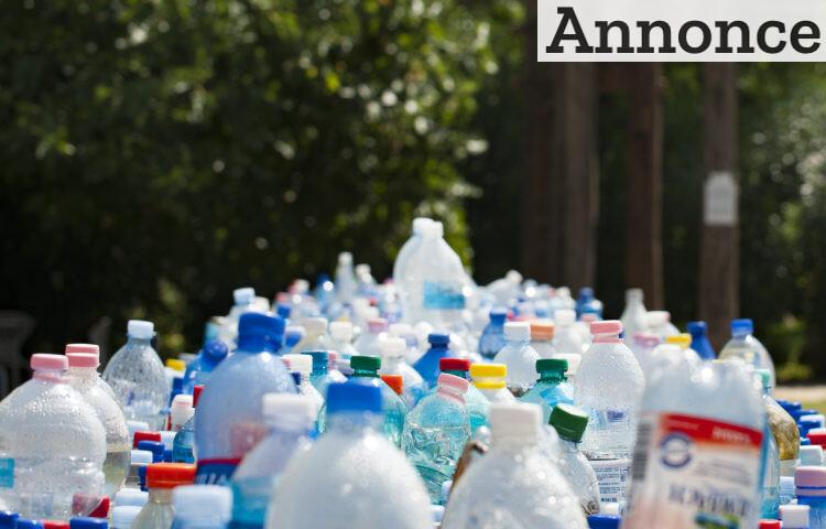 Store mængder plastikaffald